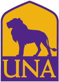 University of North Alabama (UNA) logo