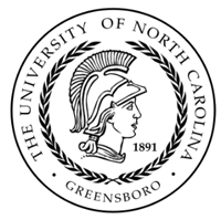 University of North Carolina at Greensboro (UNCG) logo
