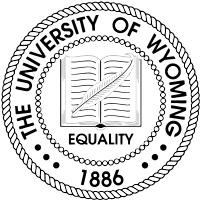 University of Wyoming (UW) logo