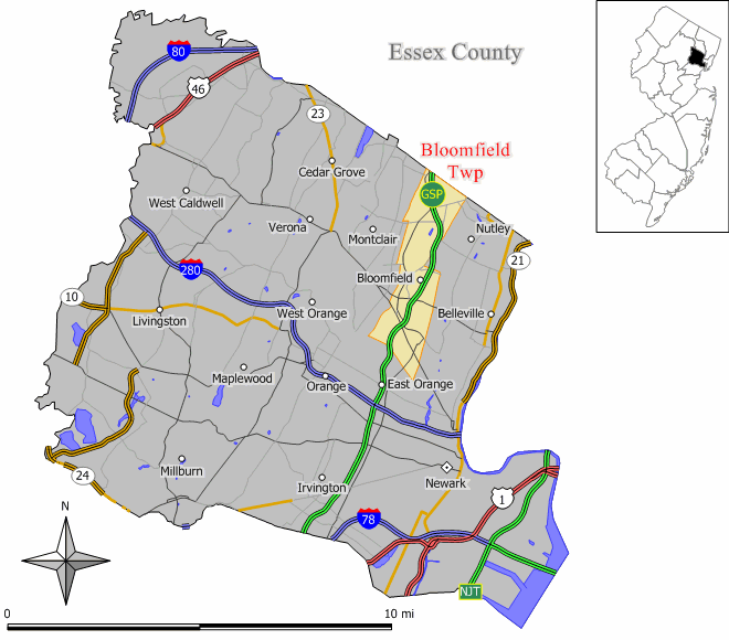 About Bloomfield New Jersey